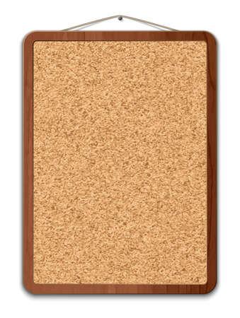 Blank panneau de liège Banque d'images - 42260934
