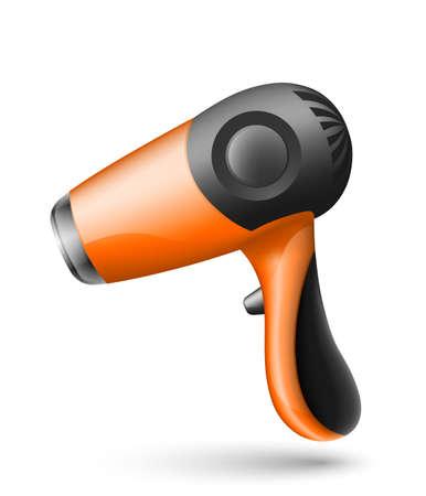 secador de pelo: Secador de pelo Icono Vectores