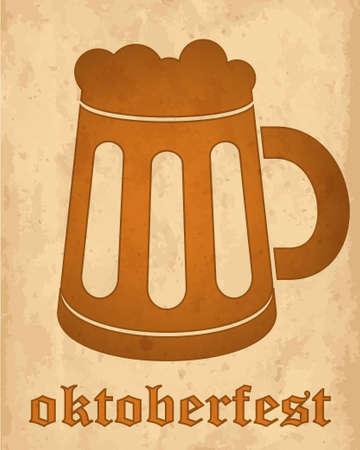 beerhouse: Oktoberfest vintage design