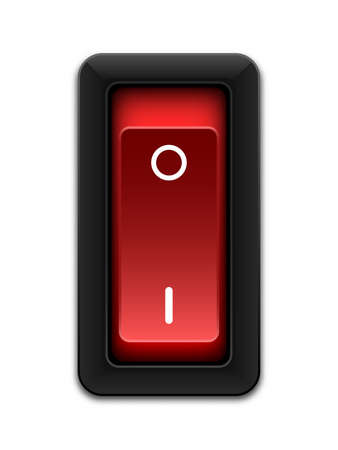 Power Switch Icon Vector