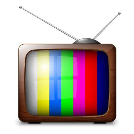 iptv: Retro TV with color frame
