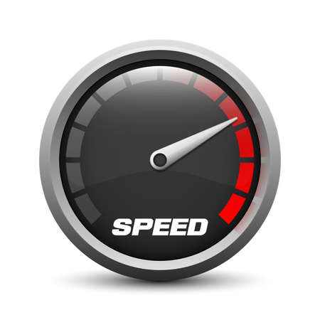 the test: speedometer icon