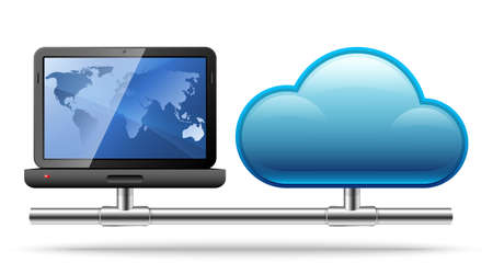 computer server: Cloud Computing.