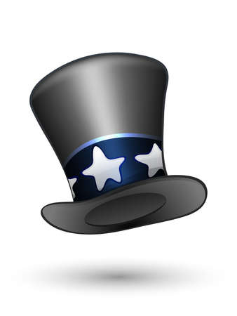 black hat: Magic hat.