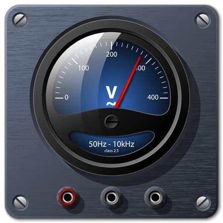 ammeter: voltmeter