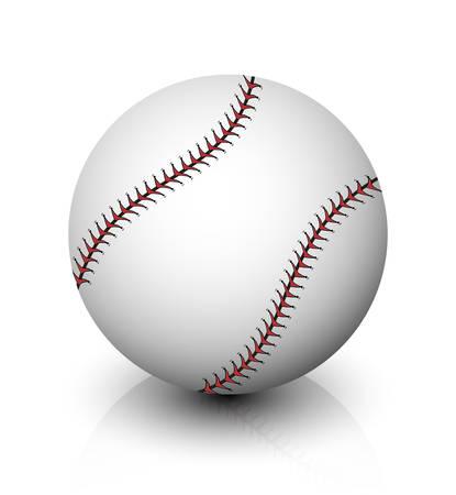 sphere base: baseball icon Illustration