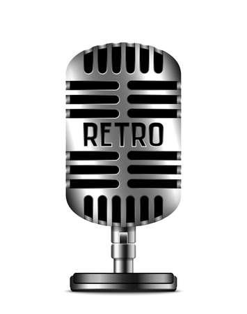 scenical: Classic retro microphone icon