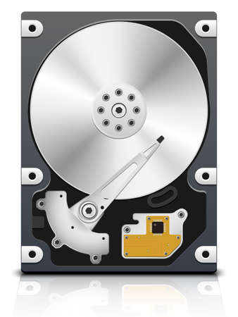 Vector HDD, front view