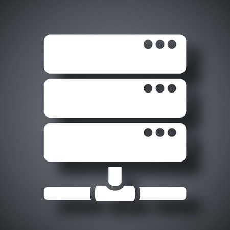 rack: Vector database server icon