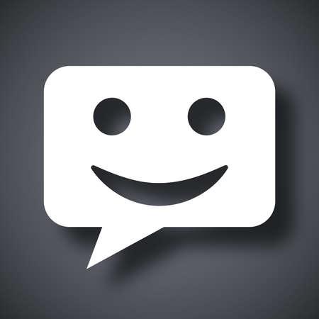 message vector: Mensaje del icono del vector
