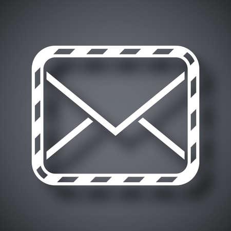 sealed: Vector sealed envelope icon