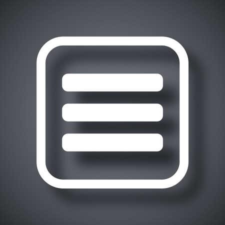 js: Vector expand menu button