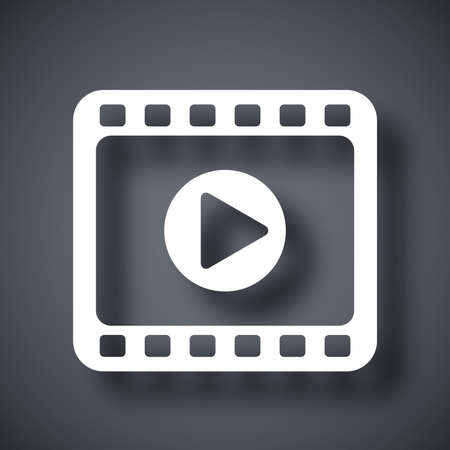 media player: Media player icon, vector