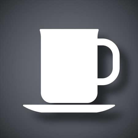 coffeecup: Vector cup icon
