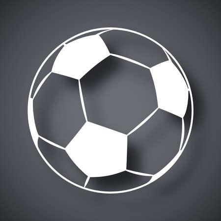 tourney: Vector football icon Illustration