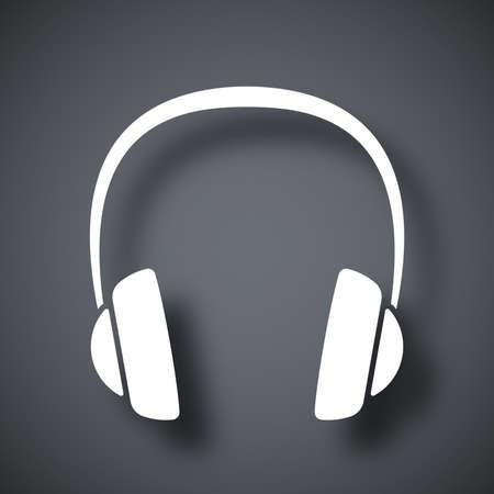 headphone: Vector headphones icon