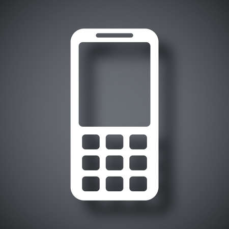 wap: Vector mobile phone icon