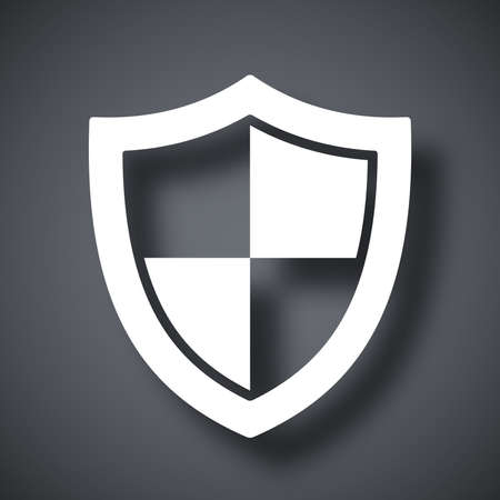 security icon: Vector protection icon