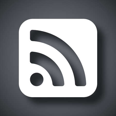 rss feed icon: Vector RSS icon