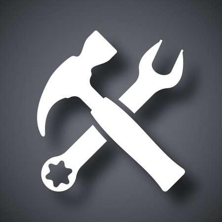 Vector tools icon Stock Illustratie