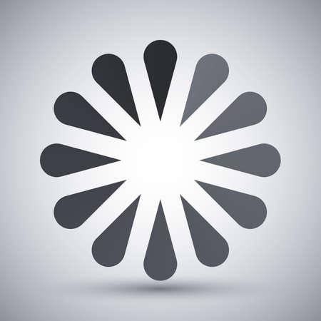 loader: Vector progress loader icon