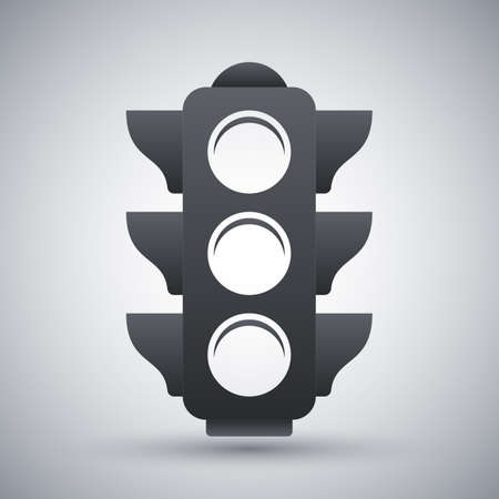 trafficlight: Vector traffic light icon Illustration