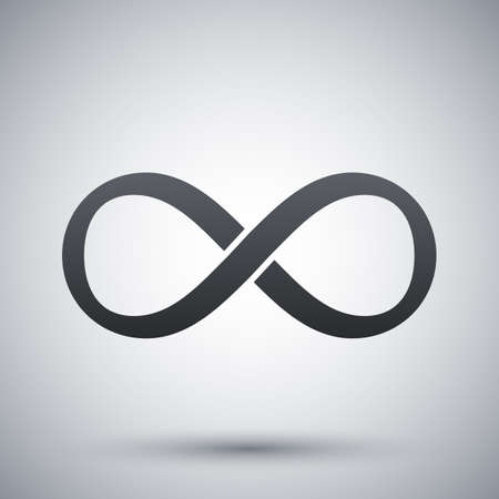 eternally: Vector infinity sign