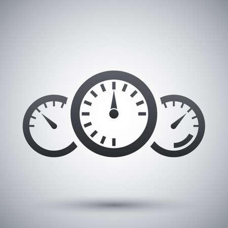 dashboard: Vector dashboard icon Illustration