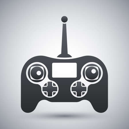 remote: Vector drone remote control icon