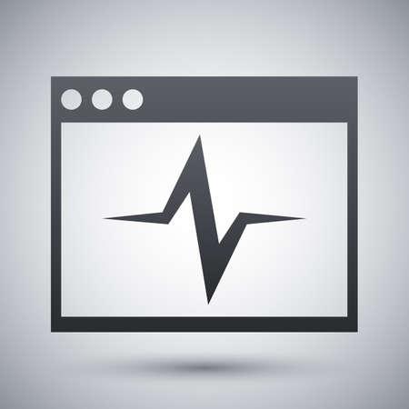 diagnostics: Vector diagnostics icon