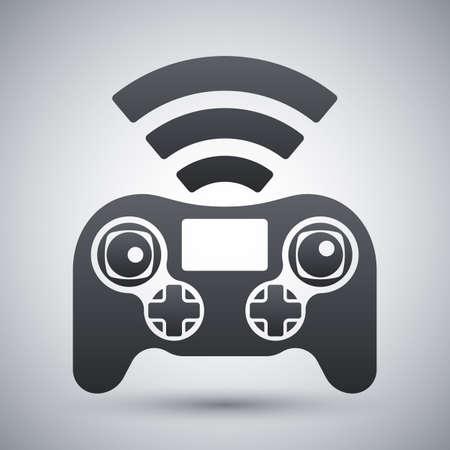 remote: Drone remote control icon