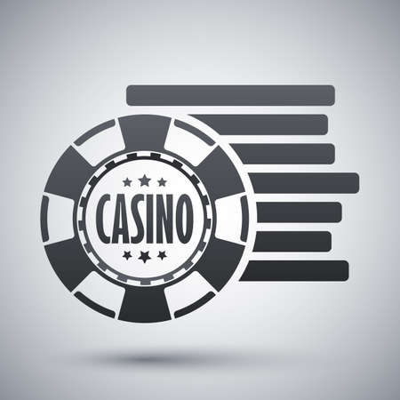 casino chips: Casino chips icon