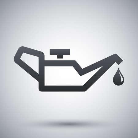 lubrication: Vector oiler icon