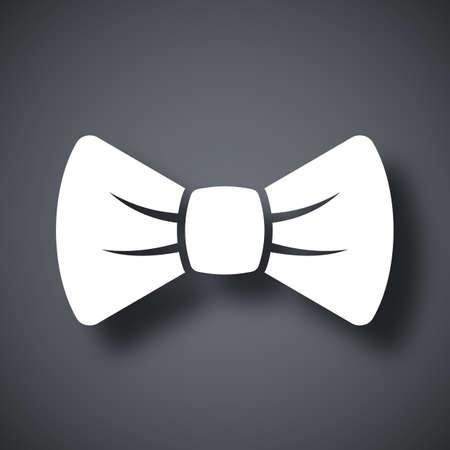 ties: Vector bow tie icon