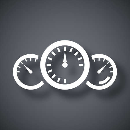 Vector dashboard icon Ilustrace