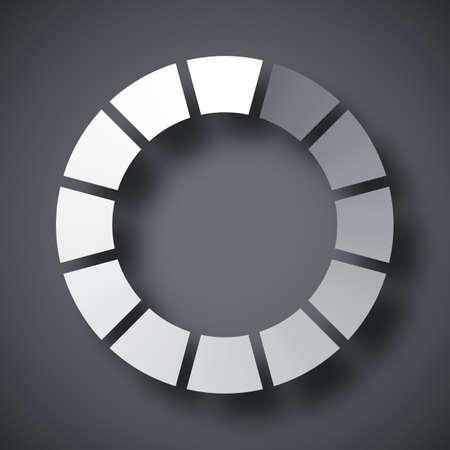 pre loader: Loading icon, vector illustration