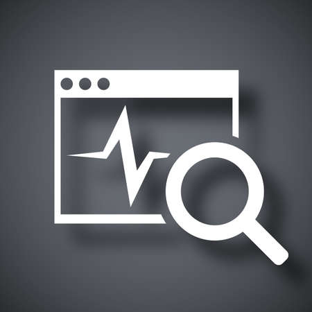 troubleshooting: Vector diagnostics software icon