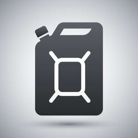 petrolium: jerrycan of fuel icon