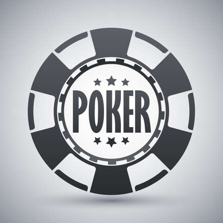 poker chip: poker chip icon