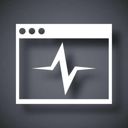 troubleshooting: Vector diagnostics icon