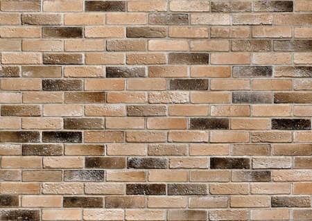 Old brick wall. Dirty bricks. Grunge brick wall texture background