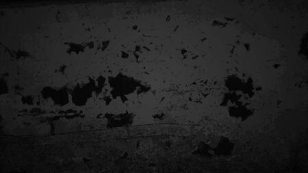 Black texture, dark backlit wall. Vector illustration.