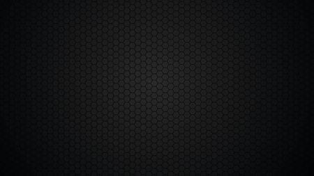 Black background, hexagons. Modern black texture. Vector illustration. Векторная Иллюстрация