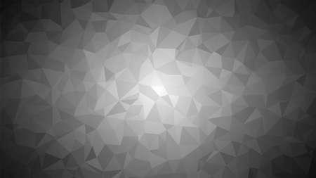 Low poly black background. Modern cool background. Vector illustration.