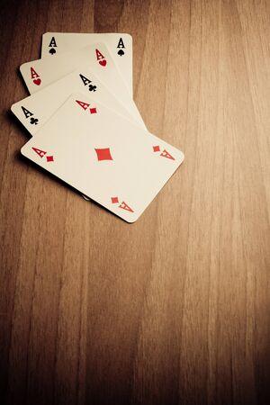 Wild West poker hand photo