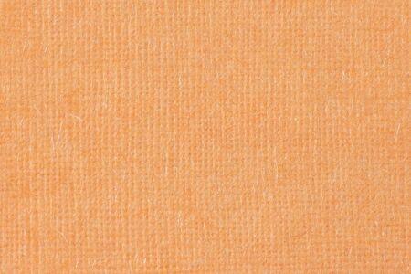 regular: regolare trama del tessuto arancione per lo sfondo Archivio Fotografico