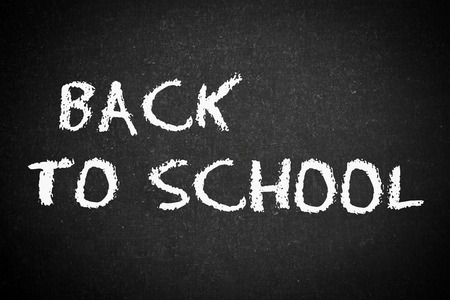 back to school, school or university blackboard  photo