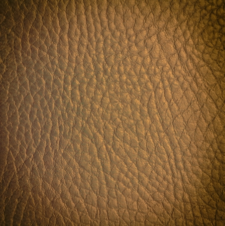closeup of seamless light brown with golden reflex leather texture