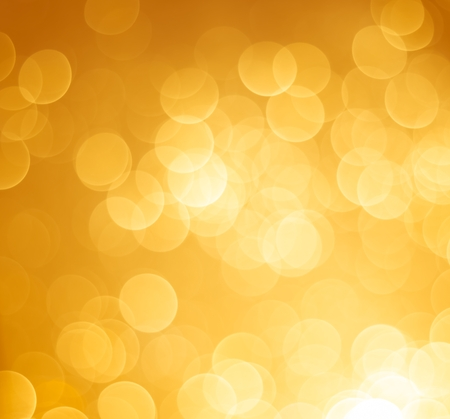 abstract golden bokeh light background, fantasy style