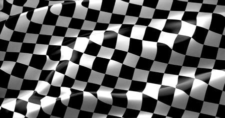 Zielflagge, Ende Rennen Hintergrund, Formel ein Wettbewerb Standard-Bild - 57201925